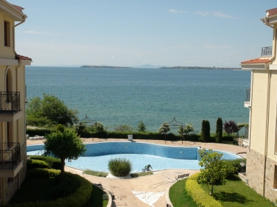 Royal Bay Residence & SPA - in St. Vlas - holiday apartment in a frontline complex