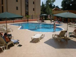 Amadeus 1- Sunny Beach - One bedroom apartment - View to the swimming pool