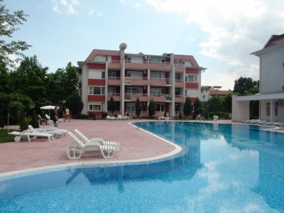 Sunny Fort in Sunny Beach - Year around open complex - many facillities -  studio apartment - fully furnished