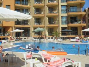 Amadeus 1 - Nicely furnished one bed-room apartment - located in the nortern part of Sunny Beach