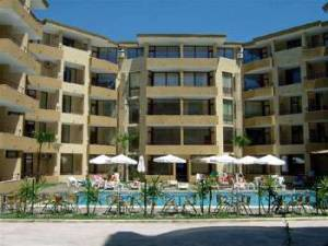 Furnished one bedroom apartment - situated in the center of Sunny Beach