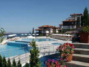Santa Marina - Two bedroom furnished apartment - in a beautiful holiday village - near Sozopol