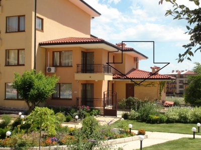 Magic Dreams in St. Vlas - Furnished studio - direct access to the pool area - only 200 meters to the beach
