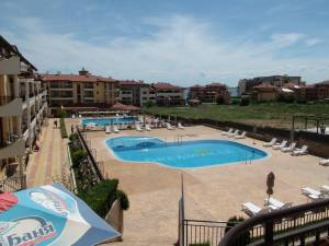 Aqua Dreams - 2 bedroom holiday apartment with 2 bathrooms - View to the swimming pool - Few meters to a sandy beach
