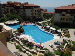 Garden of Eden - nicely furnished holiday apartment - 2 bedrooms - 2 bathrooms - View to the BlackSea