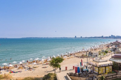 Carina Apart Hotel - 2 bedroom apartment - 100 m2 - on the Beach - Panorama view towards the Bleack Sea and old Nessebar