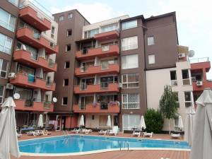 Stella Pollaris 2 - Studio apartment - on the ground floor - View to the swimming pool