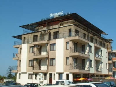 Harmani Hotel - Beautifull furnished studio apartment - Nice view to the Black Sea from the balconey