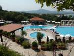 Santa Marina - Studio apartment - with a stunning view over the swimming pool area and the BlackSea