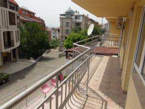 Furnished 2- bedroom apartment in St. Vlas - View to the Blacksea