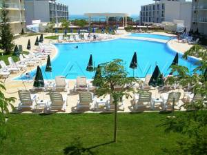 Atlantis - Nicely furnished 2 bedroom apartment - View to the Black Sea - The complex offer a big viriaty of facilities