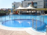 Elit 3 - Furnished one-bedroom apartment - on the ground floor - in a nice complex in Sunny Beach
