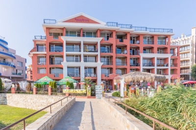 Carina Apart Hotel - Sunny Beach - Furnished studio apartment located on the 4. floor - Panoramic Seaview